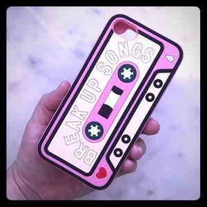 Break Up Mixtape iPhone Case📱Fits 7 or 8 Plus